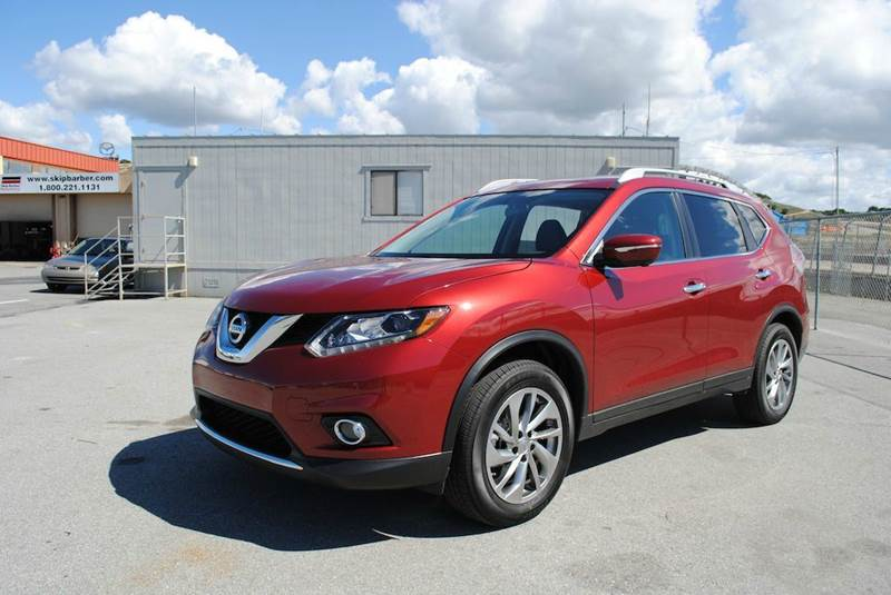 2014 NISSAN ROGUE SV 4DR CROSSOVER red hill start assist control traction control vehicle dynam