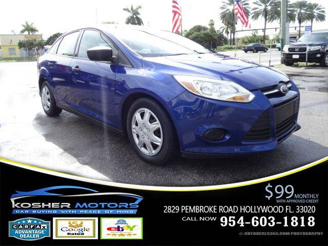 2012 FORD FOCUS S 4DR SEDAN blue mp3 compatibe radio aux connection keyless entry power locks