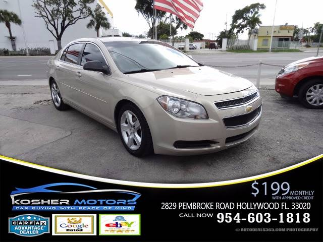 2012 CHEVROLET MALIBU LS 4DR SEDAN beige at kosher motors buying a pre-owned car or truck with c