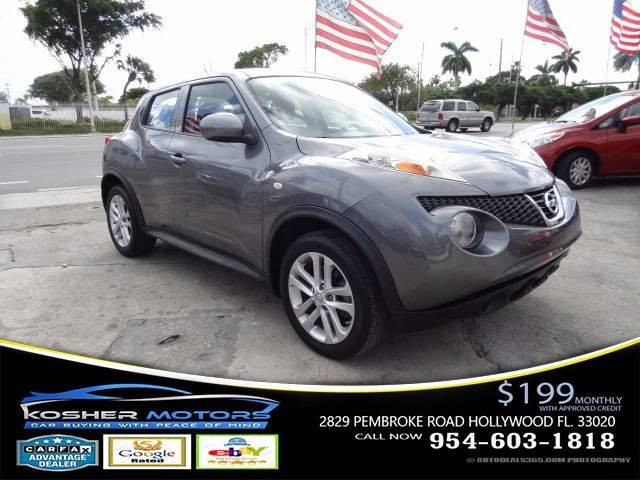2014 NISSAN JUKE S 4DR CROSSOVER gray at kosher motors buying a pre-owned car or truck with conf