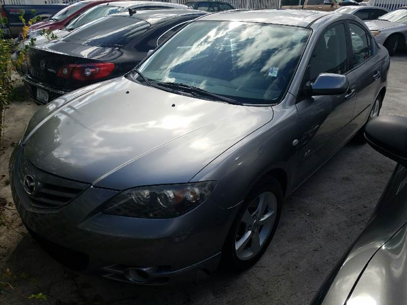 2006 MAZDA MAZDA3 S 4DR SEDAN silver the front windshield is in excellent condition  the paint i