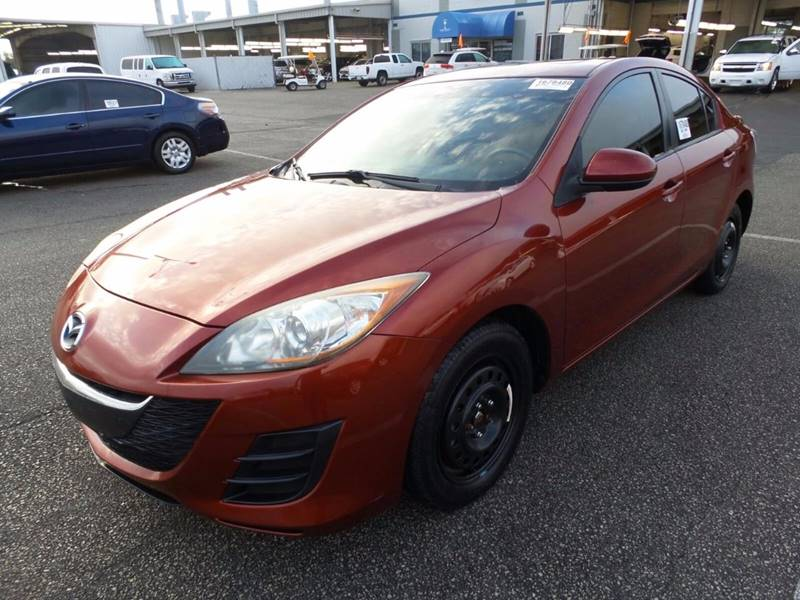 2010 MAZDA MAZDA3 I SPORT 4DR SEDAN 5A red the front windshield is in excellent condition  the p
