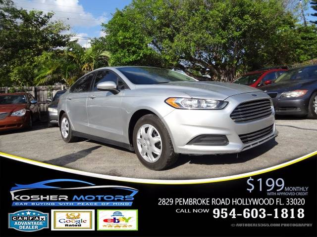 2014 FORD FUSION S 4DR SEDAN silver at kosher motors buying a pre-owned car or truck with confid