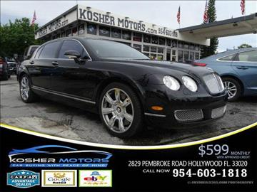 2007 Bentley Continental Flying Spur for sale in Hollywood, FL