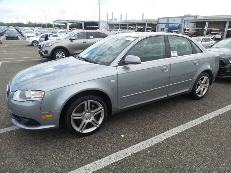 2008 AUDI A4 20T SPECIAL ED 4DR SEDAN 2L I gray 2-stage unlocking doors abs - 4-wheel active