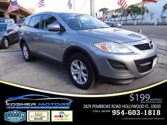 2011 MAZDA CX-9 TOURING AWD 4DR SUV gray leather seats power seats clean title carfax availabl