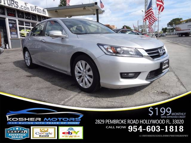 2014 HONDA ACCORD EX 4DR SEDAN CVT silver the honda accord is among the best of a crop of superb