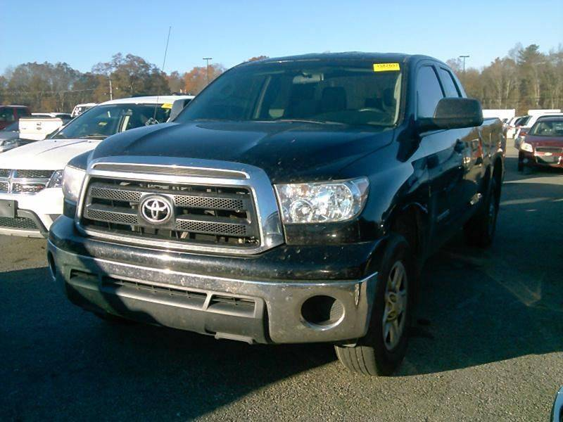 2011 TOYOTA TUNDRA GRADE 4X2 4DR DOUBLE CAB PICKUP black tailgate - lift assist door handle colo