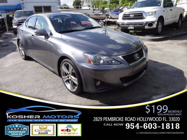 2012 LEXUS IS 250 BASE 4DR SEDAN 6A gray the lexus is 250 is a true sports sedan its quick and