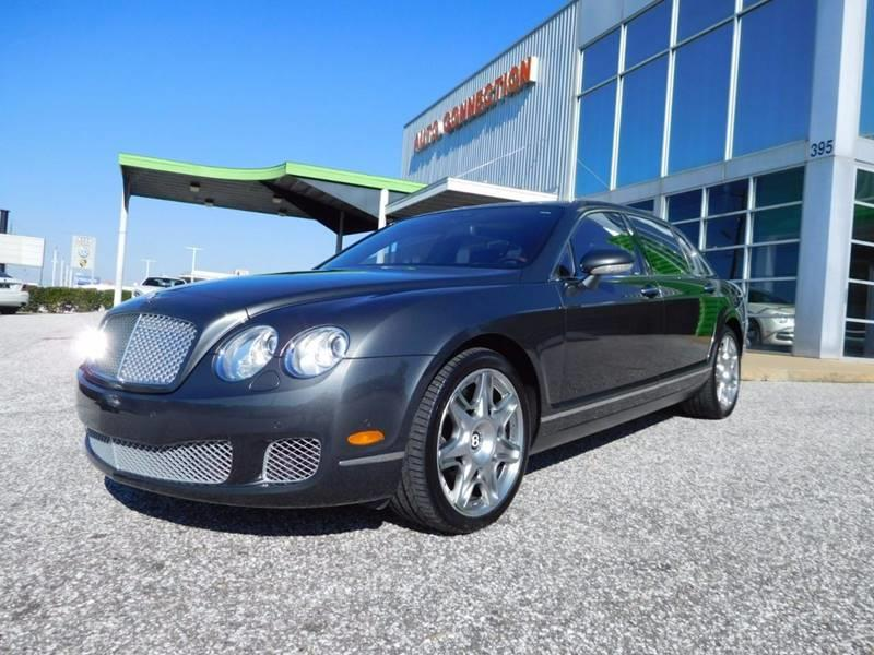 2009 BENTLEY CONTINENTAL FLYING SPUR BASE AWD 4DR SEDAN gray 2009 bentley continental flying spur