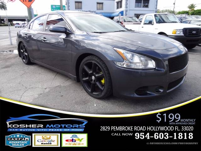 2010 NISSAN MAXIMA 35 SV 4DR SEDAN gray at kosher motors buying a pre-owned car or truck with c