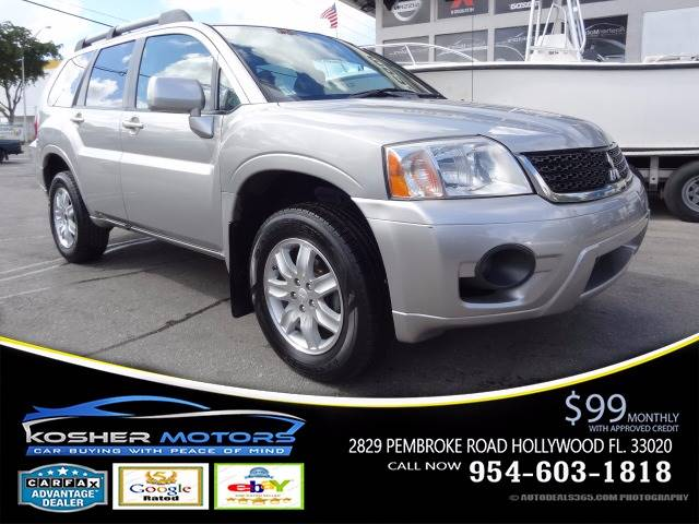 2011 MITSUBISHI ENDEAVOR LS 4DR SUV silver clean car trade1 only 78k miles super clean gas save