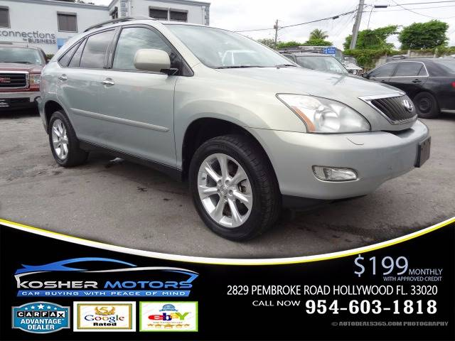 2009 LEXUS RX 350 BASE AWD 4DR SUV silver low miles only 75k leather sunroof all power lexus