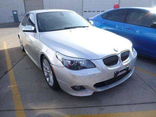 2010 BMW 5 SERIES 528I 4DR SEDAN silver yes it is fully loaded with only 80k miles m sport pac