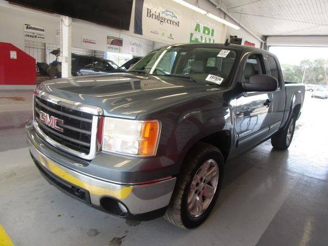 2007 GMC SIERRA 1500 SLE1 4DR EXTENDED CAB 58 FT SB blue pickup bed light pickup bed type - fl