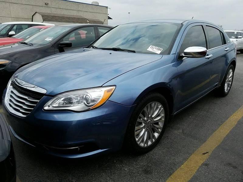 2011 CHRYSLER 200 LIMITED 4DR SEDAN blue door handle color - chrome front bumper color - body-co