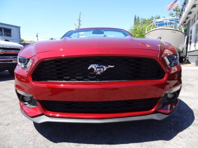 2017 Ford Mustang EcoBoost Premium 2dr Convertible - Hollywood FL