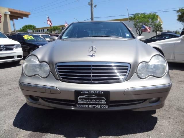2003 Mercedes-Benz C-Class C 230 Kompressor 4dr Sedan - Hollywood FL