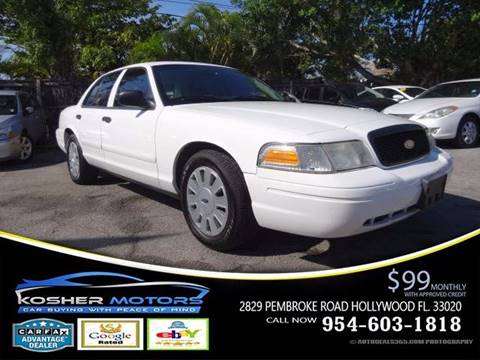 2008 Ford Crown Victoria for sale in Hollywood, FL