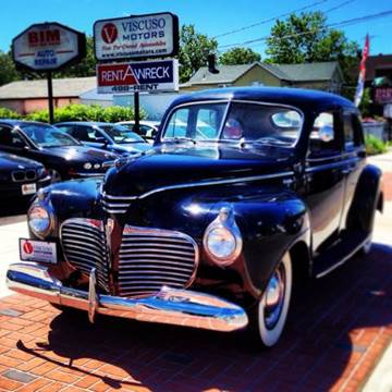 1941 Plymouth Deluxe for sale at Viscuso Motors in Hamden CT