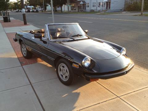 1982 Alfa Romeo Spider for sale at Viscuso Motors in Hamden CT