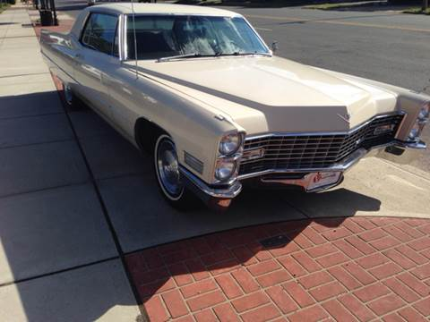 1967 Cadillac DeVille for sale at Viscuso Motors in Hamden CT