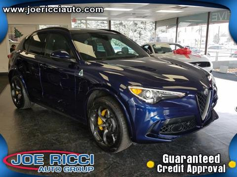 2018 Alfa Romeo Stelvio Quadrifoglio for sale in Clinton Township, MI