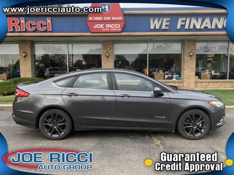 2018 Ford Fusion Hybrid for sale in Clinton Township, MI