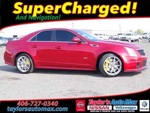 2012 Cadillac CTS-V for sale in Great Falls, MT