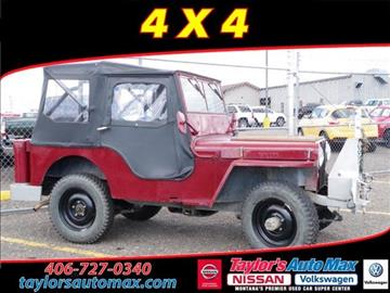 1946 Willys CJ-2A for sale in Great Falls, MT