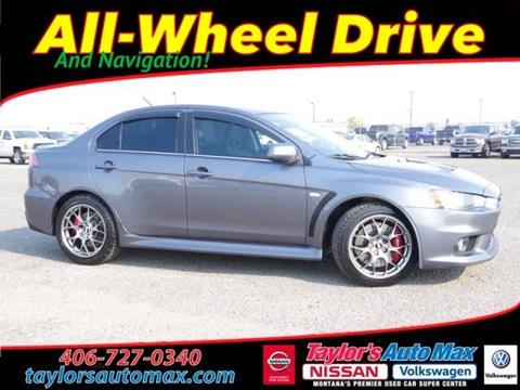 2010 Mitsubishi Lancer Evolution for sale in Great Falls, MT