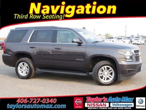 2017 Chevrolet Tahoe for sale in Great Falls, MT