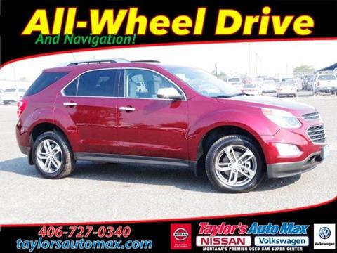 2017 Chevrolet Equinox for sale in Great Falls, MT