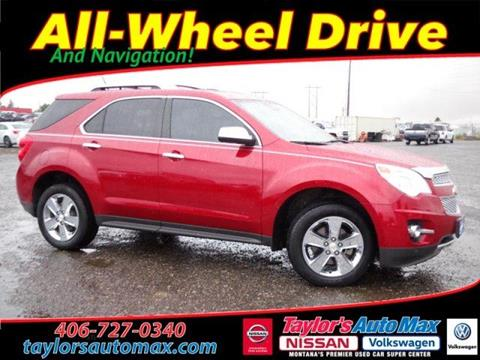 2013 Chevrolet Equinox for sale in Great Falls, MT