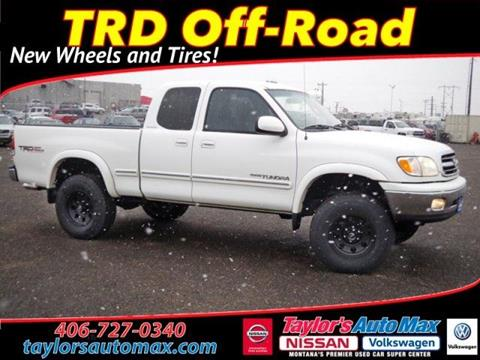 2001 Toyota Tundra for sale in Great Falls, MT