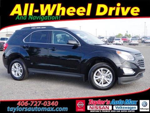 2016 Chevrolet Equinox for sale in Great Falls, MT