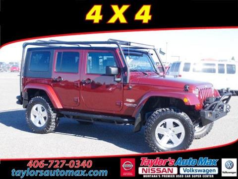 2008 Jeep Wrangler Unlimited for sale in Great Falls, MT