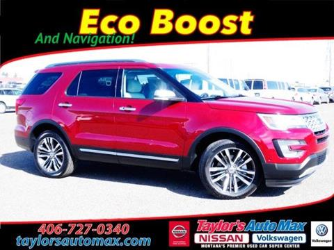 2016 Ford Explorer for sale in Great Falls, MT