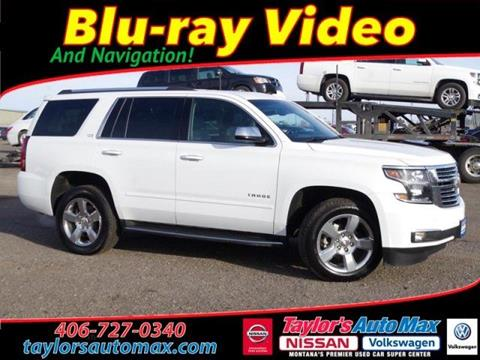 2016 Chevrolet Tahoe for sale in Great Falls, MT