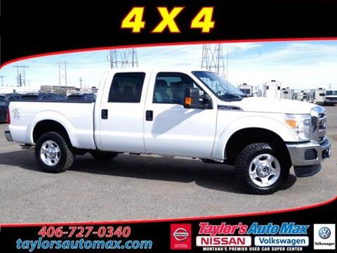 2016 Ford F-250 Super Duty for sale in Great Falls, MT