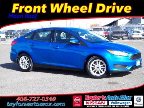 2015 Ford Focus for sale in Great Falls, MT