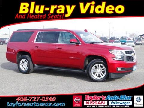 2015 Chevrolet Suburban for sale in Great Falls, MT