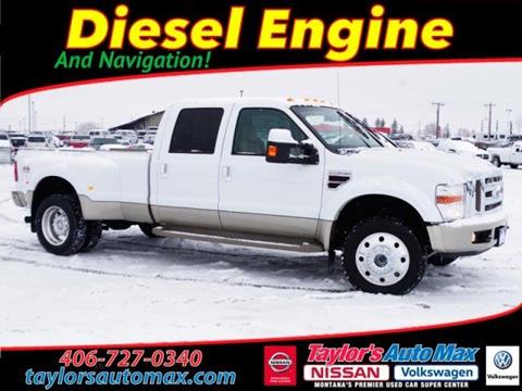 2008 Ford F 450 For Sale In Great Falls Mt