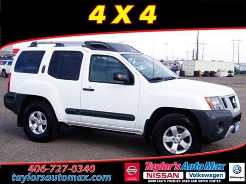 Nissan xterra for sale in montana for City motors great falls mt