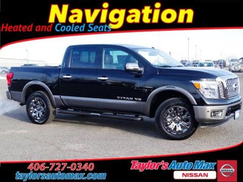 Nissan titan for sale in montana for City motors great falls mt