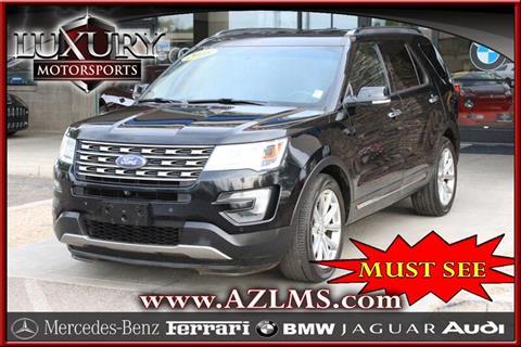 2016 Ford Explorer for sale in Phoenix, AZ