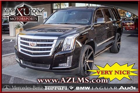 2016 Cadillac Escalade for sale in Phoenix, AZ