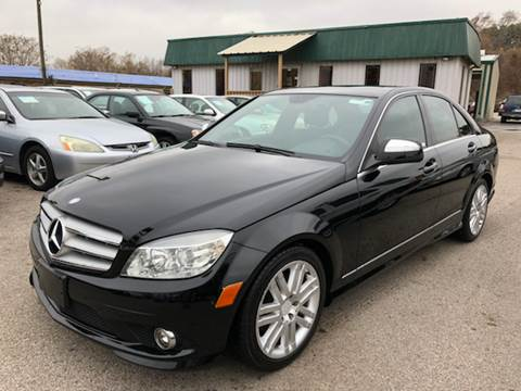 2008 Mercedes-Benz C-Class for sale at ASTRO MOTORS in Houston TX