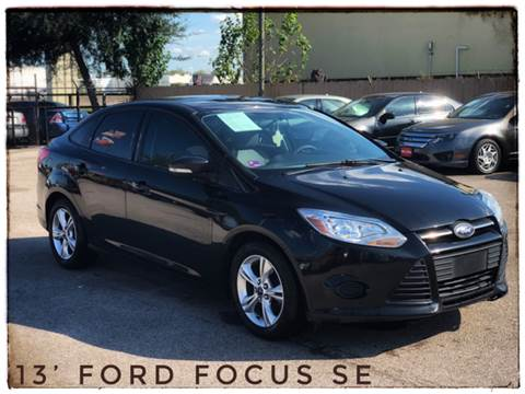 2013 Ford Focus for sale at ASTRO MOTORS in Houston TX
