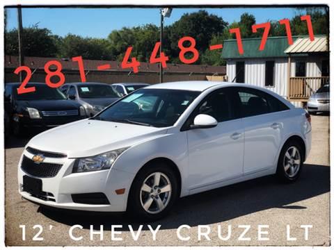 2012 Chevrolet Cruze for sale at ASTRO MOTORS in Houston TX